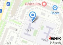 Компания «Лицей №1561» на карте