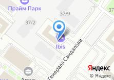 Компания «ibis dynamo Moscow» на карте