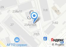 Компания «Турбюро Москва М» на карте