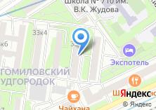 Компания «Общежитие СТАНКИН» на карте