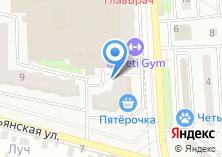 Компания «Строящийся жилой дом по ул. Микрорайон Родники (г. Подольск)» на карте