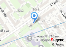 Компания «Инженерная служба района Дорогомилово» на карте