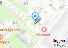 Компания «Меза» на карте