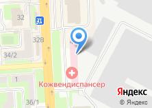 Компания «Подольский кожно-венерологический диспансер» на карте