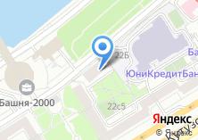 Компания «Почтовое отделение №121151» на карте