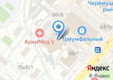 Компания «Автомобилист-7» на карте