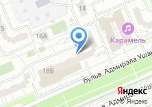 Компания «Магазин охотничьих принадлежностей на бульваре Адмирала Ушакова» на карте