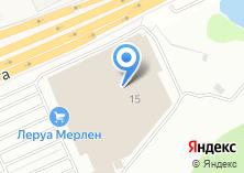 Компания «Леруа Мерлен» на карте