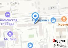 Компания «Меланья» на карте