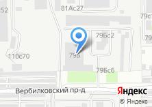 Компания «Фишбон» на карте