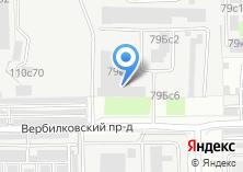 Компания «Телеметрика» на карте