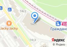 Компания «Linxtelecom» на карте