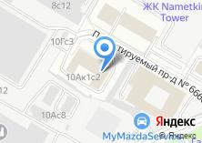 Компания «Инжкапстрой Сервис» на карте