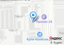Компания «Морена» на карте