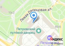 Компания «Петровский путевой дворец» на карте