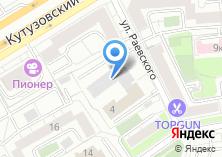 Компания «Русский Объединенный Инновационный Капитал» на карте