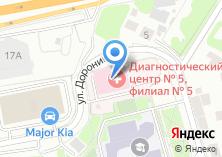 Компания «Диагностический центр №5» на карте