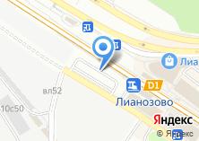 Компания «Кухнимосков» на карте