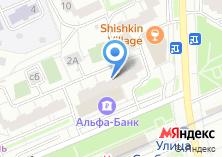 Компания «Анаир» на карте