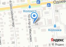 Компания «Строящийся жилой дом по ул. Одоевское шоссе» на карте