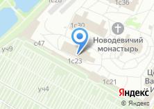 Компания «Храм Амвросия Медиоланского Новодевичьего монастыря с палатами Ирины Годуновой» на карте