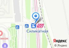 Компания «Силикатная» на карте