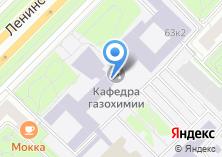 Компания «Общество нефтяников и газовиков им. И.М. Губкина» на карте