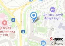 Компания «Мак-Авто» на карте