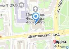 Компания «Управа Пресненского района» на карте