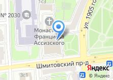 Компания «Пресненское» на карте