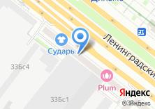 Компания «Интерпрогрессбанк» на карте