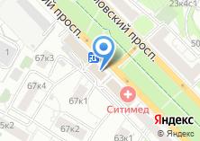 Компания «Цветы на Нахимовском» на карте