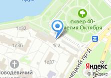 Компания «Воскресная школа при Богородице-Смоленском Новодевичьем монастыре» на карте