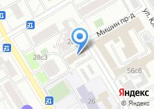 Компания «Московский Комбинат Центрэнерготеплоизоляция» на карте