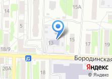 Компания «Детский сад №25 Улыбка» на карте