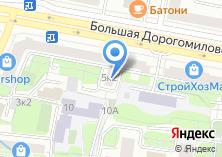 Компания «Модная комната шоу-рум» на карте