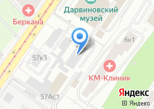 Компания «РКС №3» на карте