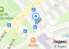 Компания «Магазин цветов на Большой Пироговской» на карте