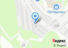 Компания «Гаражно-строительный кооператив №12» на карте