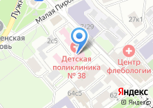 Компания «Городская поликлиника №56 Центральный административный округ» на карте
