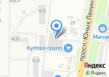 Компания «Куппро Групп» на карте