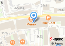 Компания «Офсетная типография №21» на карте