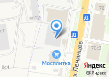 Компания «Мосплитка» на карте