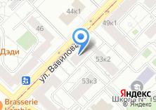 Компания «Центракадемстрой» на карте