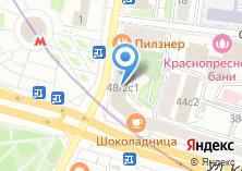 Компания «Sisley» на карте