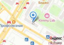 Компания «Профсоюзная» на карте