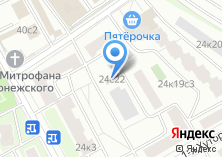 Компания «Шины054» на карте