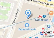 Компания «Gap» на карте