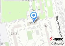 Компания «Почтовое отделение №127237» на карте