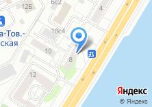 Компания «А+В» на карте